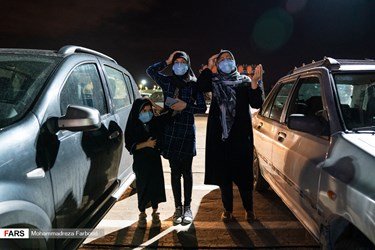 احیای شب بیستویکم در پارک کوهستانی دراک شیراز/ مراسم برای رعایت دستورالعمل های بهداشتی به صورت خودرویی برگزار شد