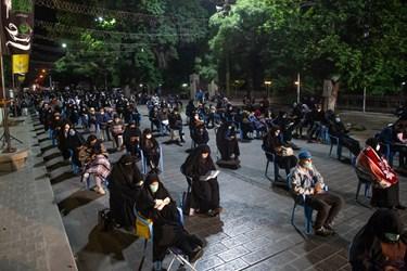 مراسم احیاء در سبزه میدان قزوین