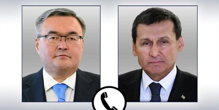 گفتوگوی تلفنی وزرای امور خارجه قزاقستان و ترکمنستان