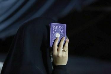 مراسم قرآن به سر گرفتن شب بیست و یکم ماه مبارک رمضان در چهارباغ عباسی