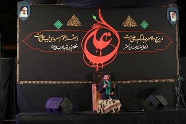 مداحی ذاکران اهل بیت در شب بیست و یکم ماه رمضان در اصفهان