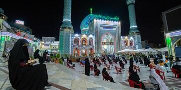 احیای شب بیست و یکم در امامزاده صالح