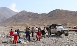 پیدا شدن جسد 6 نیروی اداره برق کرمان در منطقه سیلزده گلباف