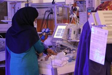 احیای شب قدر در بخش کرونای بیمارستان جیرفت