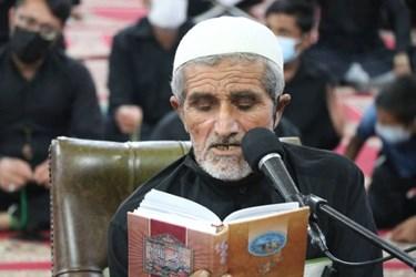 مراسم احیاء شب شب ۲۱ رمضان مسجد جامع جوادالائمه علیه السلام هشتبندی با رعایت پروتکل های بهداشتی