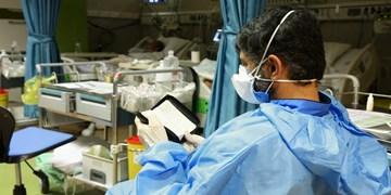 فیلم| شب قدر کنار بیماران کرونایی یک بیمارستان