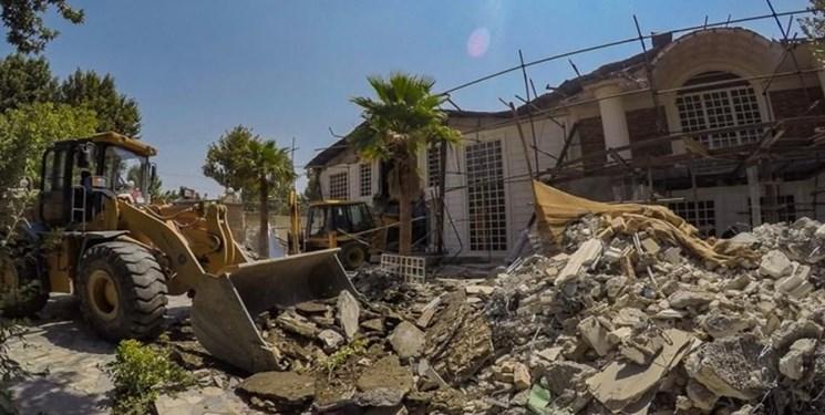 آزادسازی ۱۲۵ هکتار از اراضی زراعی شهریار/ تخریب ۱۰۰۴ باغ ویلای غیرمجاز