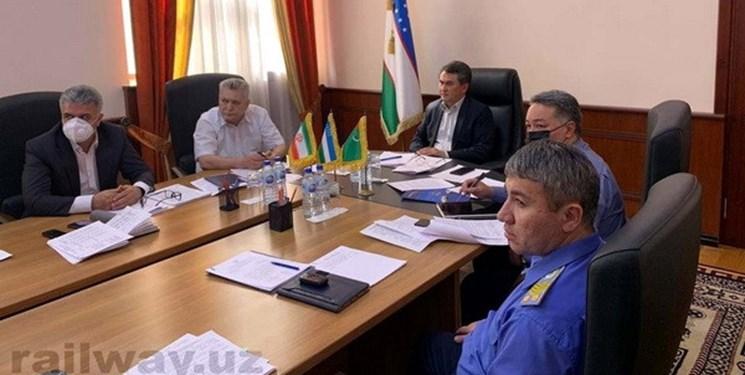 نشست سه جانبه نمایندگان سازمانهای راه آهن ازبکستان، ایران و ترکمنستان