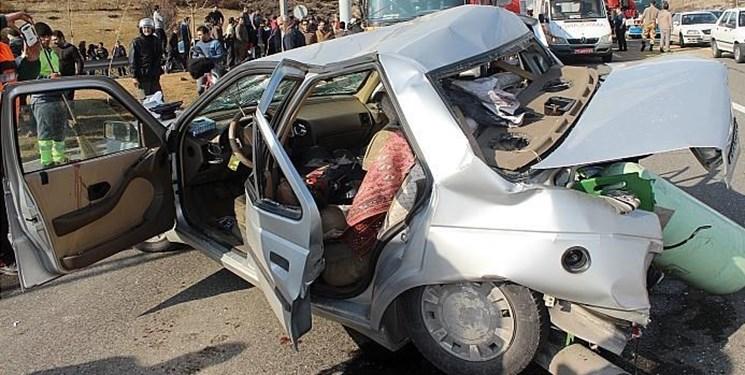 تصادف پراید و پژو ۴۰۵ در شاهنامه مشهد ١٣ مصدوم داشت