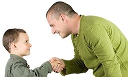 15 نکته طلایی برای  کودک مؤدب داشتن