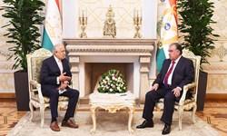 دیدار «خلیلزاد» با رئیس جمهور تاجیکستان؛ افغانستان محور مذاکرات