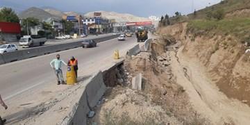 خسارت سیلاب و بارشهای اخیر به جادههای استان تهران