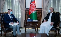 دیدار مقامات ارشد تاجیکستان و افغانستان در «کابل»