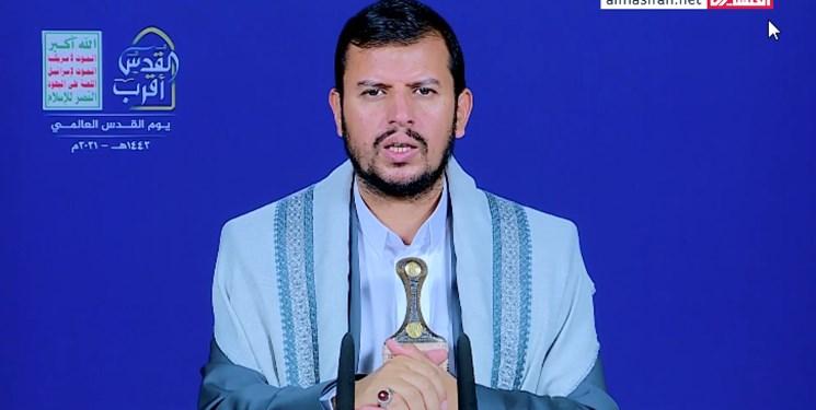 رهبر انصار الله یمن: برای کمک به مقاومت فلسطین در آماده باش کامل هستیم