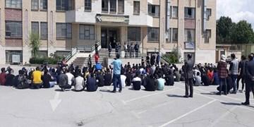 اجتماع دانشآموزان برای لغو امتحانات حضوری در شرایط کرونایی