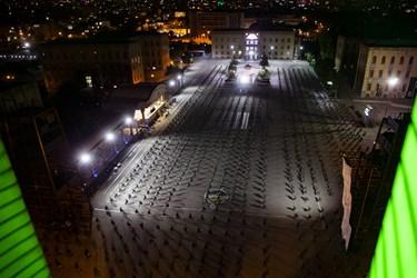مراسم احیای شب بیستوسوم دانشکده افسری امام علی (ع) با رعایت فاصله اجتماعی و شیوهنامه های بهداشتی انجام شد.