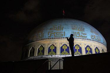 احیای شب بیستوسوم دانشکده افسری امام علی (ع)