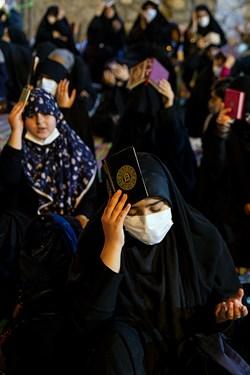 مراسم قرآن به سر گرفتن شب بیست و سوم ماه مبارک رمضان کهف الشهداء