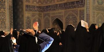 مراسم احیای شب بیست و سوم ماه رمضان در میدان امام(ره) اصفهان