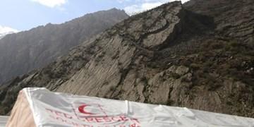 ۲۲ ساعت مأموریت مشترک اورژانس و هلالاحمر برای نجات مصدوم حادثهٔ سقوط از کوه