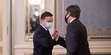 دیدار تحریکآمیز بلینکن با زلنسکی پس از کاهش تنش مرزی اوکراین و روسیه