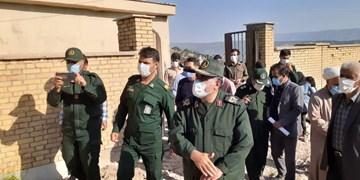 رزمایش مومنانه تیپ ۴۸ فتح و ستاد عتبات عالیات در منطقه محروم «چین»+عکس و فیلم