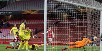 لیگ فوتبال اروپا|صعود منچستر با شکست و ناکامی آرسنال/فینال انگلیسی تکرار نشد