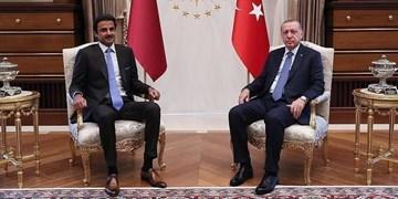 اردوغان با امیر قطر تلفنی گفتوگو کرد
