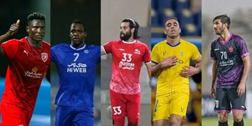 جدال دیاباته، مغانلو و عباس زاده برای کسب جایزه بهترین مهاجم لیگ قهرمانان آسیا+لینک