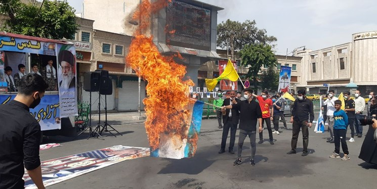 اعلام انزجار مردم استان تهران از استکبار جهانی