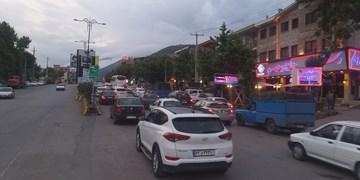 انسداد ۱۰ جاده به دلیل کاهش ایمنی مسیر/ترافیک در مسیر جنوب به شمال محورهای فیروزکوه و هراز