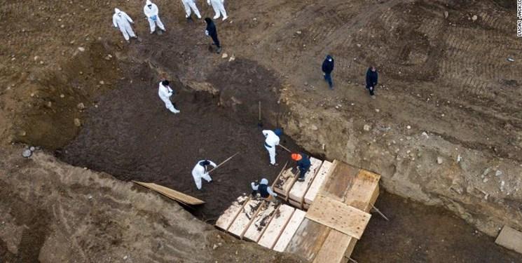 اجساد سرگردان در آمریکا؛ قربانیان کرونا همچنان در کامیونهای یخچالدار