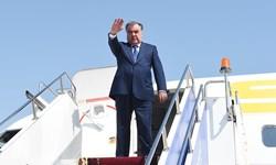 رئیس جمهور تاجیکستان به روسیه سفر کرد