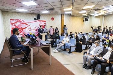 نشست خبری سعید محمد، داوطلب سیزدهمین انتخابات ریاست جمهوری
