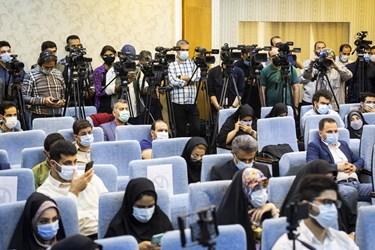 حضور اصحاب رسانه در نشست خبری سعید محمد، داوطلب سیزدهمین انتخابات ریاست جمهوری