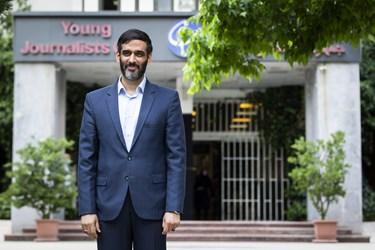 سعید محمد، داوطلب سیزدهمین انتخابات ریاست جمهوری در پایان نشست خبری