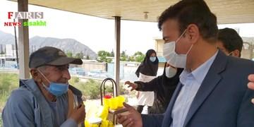 آغاز واکسیناسیون سالمندان شهرستان دنا
