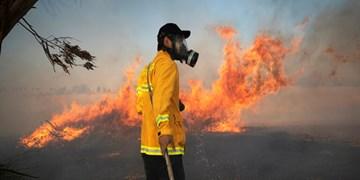 بالنهای آتشزا موجب 12 آتشسوزی در مزارع شهرکهای صهیونیستنشین شد