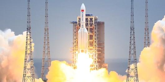 فضاپیمای باربری چین با  ماژول ایستگاه فضایی دیدار میکند