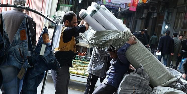 توزیع 2 هزار بسته معیشتی بین پاکبانان و باربران بازار