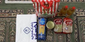 آغاز پویش «احسان رمضان» در همدان/ ۹۵۰۰ بسته معیشتی توزیع شد