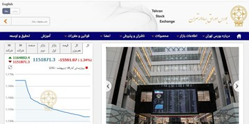 کاهش 15 هزار و 591 واحدی شاخص بورس تهران/ ارزش معاملات دو بازاربه 7 هزار میلیارد تومان نزدیک شد