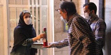 تکریم از کادر درمان توسط چهرههای هنر انقلاب اسلامی خوزستان