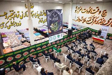 محفل انس با قرآن در گرمخانه منطقه 19 معاونت اجتماعی و فرهنگی شهرداری تهران