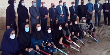 افتتاح نخستین آکادمی هاکی ساحلی بانوان آسیا در مهریز