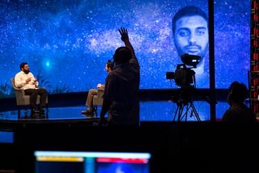 اشاره یکی از عوامل پشت صحنه برنامه سحرگاهی «ماه من» به جواد تاجیک  جهت هماهنگی