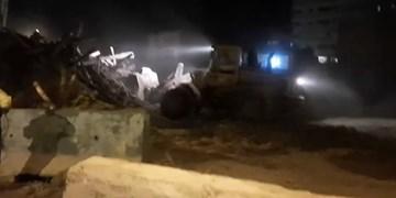 تخریب شبانه خانه حاجباشی در اراک