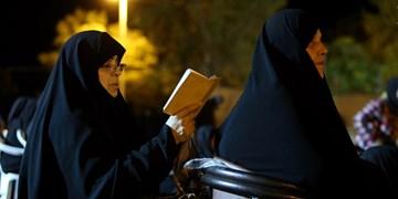 برگزاری مراسم وداع با ماه خدا در قزوین