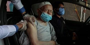 واکسیناسیون خودرویی  در مشهد