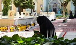 ترتیل خوانی قرآن کریم در حرم مطهر رضوی به یاد شهدای حادثه تروریستی کابل